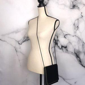 🦋CARLA MARCHI🦋 vintage black velvet bag